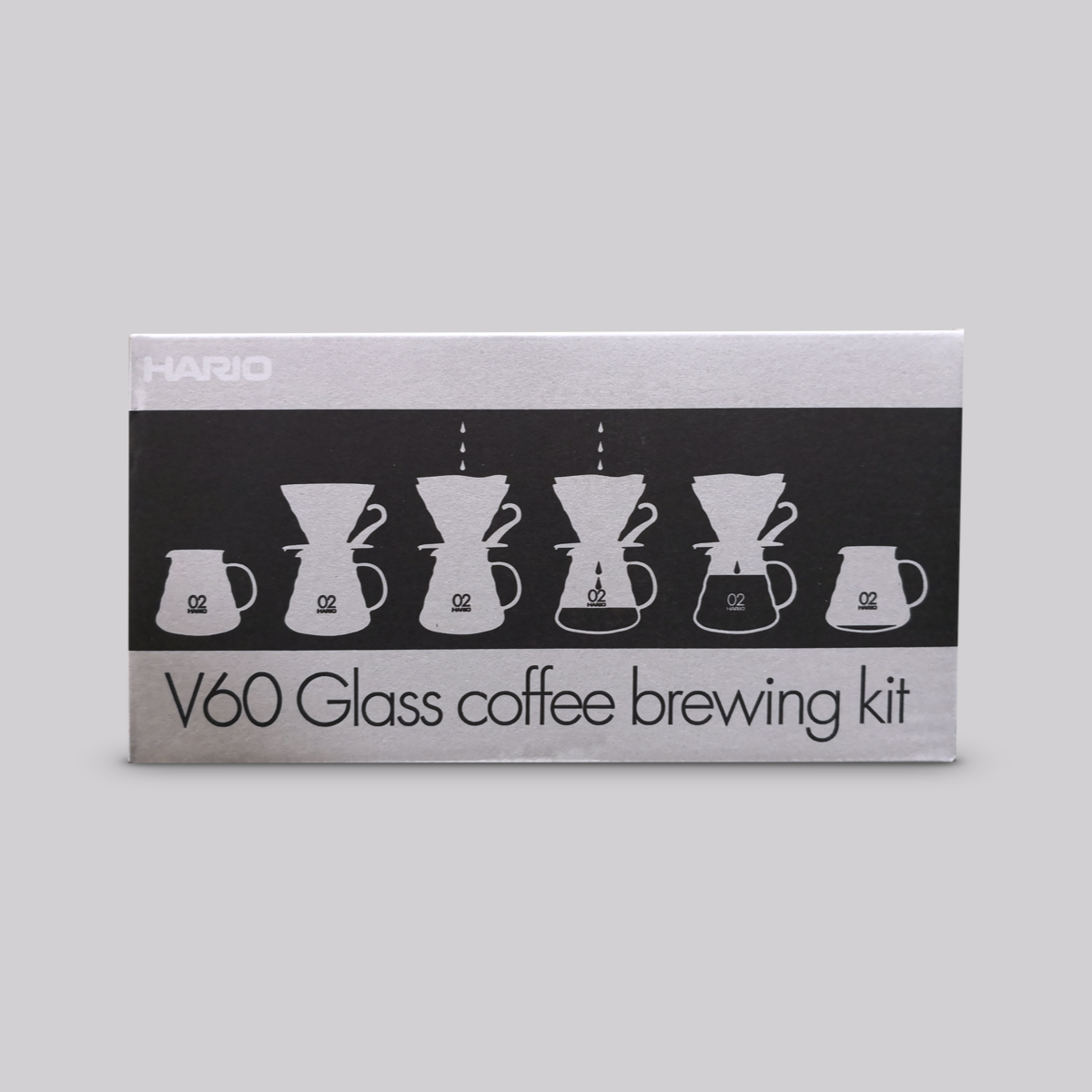 Hario - V60 Glass Brewing Kit