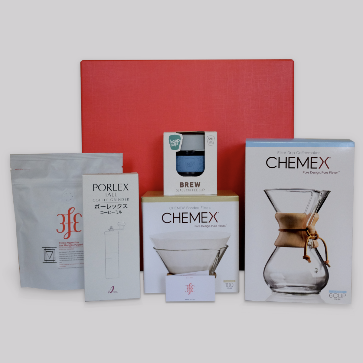 3fe Brewing Kit - Chemex