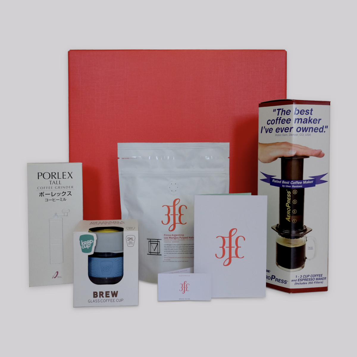 3fe Brewing Kit - Aeropress